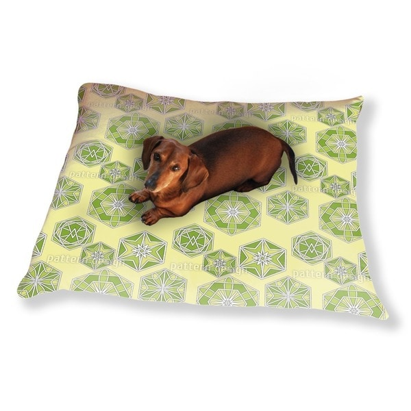 Green Morocco Dog Pillow Luxury Dog / Cat Pet Bed