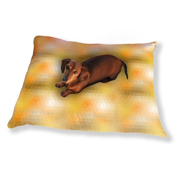 Disco Gold Dog Pillow Luxury Dog / Cat Pet Bed