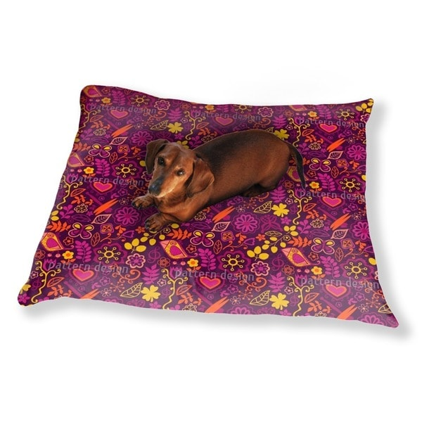 Piepsi In The Disco Jungle Dog Pillow Luxury Dog / Cat Pet Bed