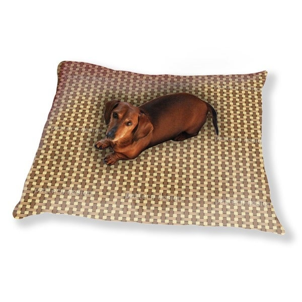 Wicker Weave Dog Pillow Luxury Dog / Cat Pet Bed
