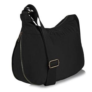 Suvelle BA20 RFID Expandable Hobo Travel Crossbody Bag