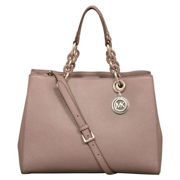 Michael Kors Cynthia Medium Cinder Satchel Handbag