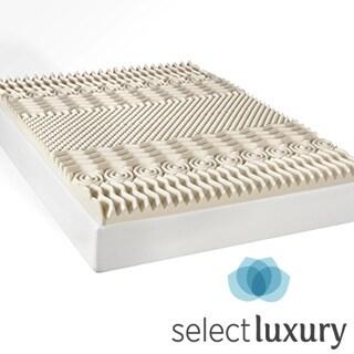 Select Luxury 3-inch Memory Foam 7-zone Mattress Topper