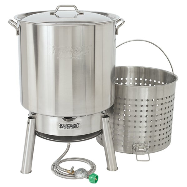 Stainless 82-quart Boiler Kit With 10 PSI Cooker