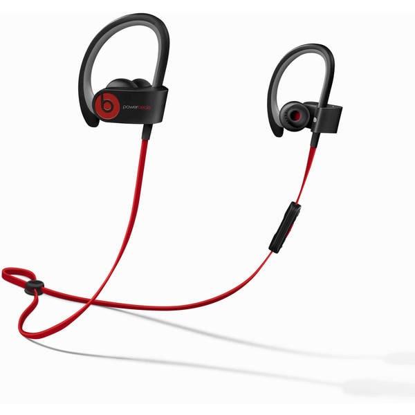 Beats by Dr. Dre Powerbeats2 Black Refurbished Wireless Earbud Headphones