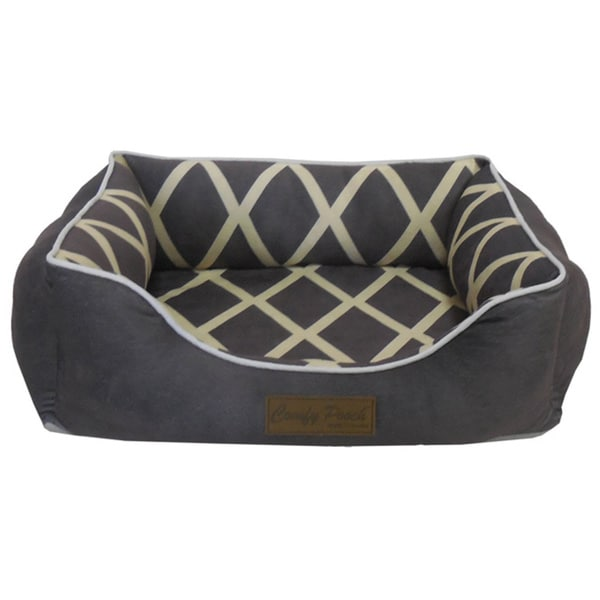 Meggie Polyester Deluxe Ultra-soft Hypoallergenic Comfy Pooch Pet Bed