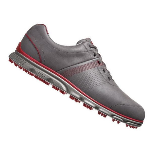 FootJoy Dryjoy Casual Spikeless Golf Shoes 53663 2014 Grey/Red