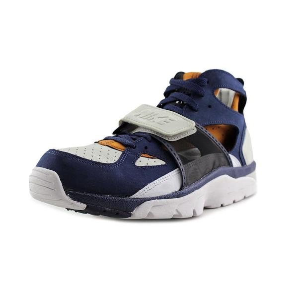 Nike Men's 'Air Trainer Huarache PRM' Multicolor Faux-suede/Synthetic Athletic Shoes