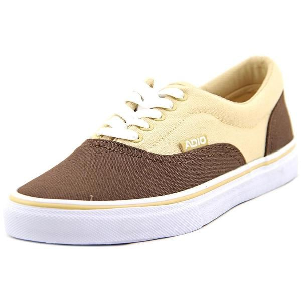 Adio Men's Cruiser Brown Canvas Athletic Shoes