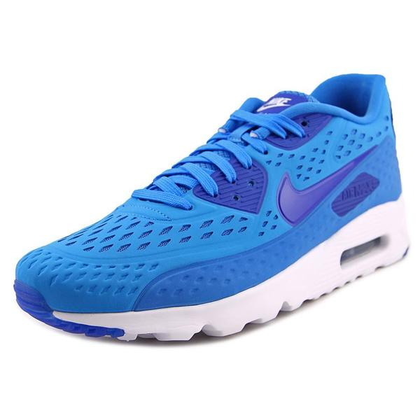 Nike Men's Air Max 90 Ultra BR Blue Synthetic Athletic Shoes