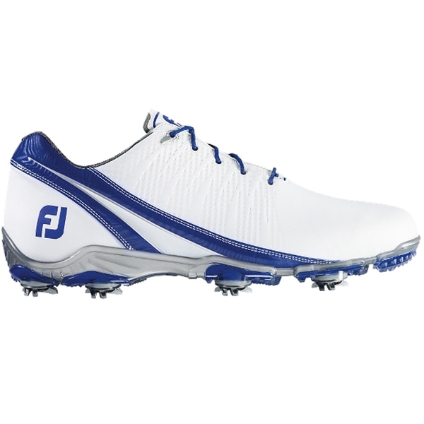 FootJoy DNA 2.0 Golf Shoes White/Royal Blue