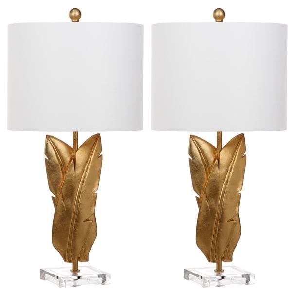Safavieh Lighting Aerin 25.5-Inch Wings Table Lamp (Set of 2)