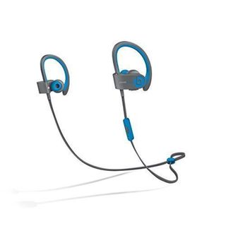 Beats by Dre Powerbeats 2 Blue Wireless Active Collection Refurbished Headphones