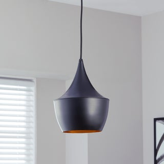 "Safavieh Lighting 9.5-inch Larson Adjustable Edison Bulb Pendant - 9.5""x9.5""x18-47"""