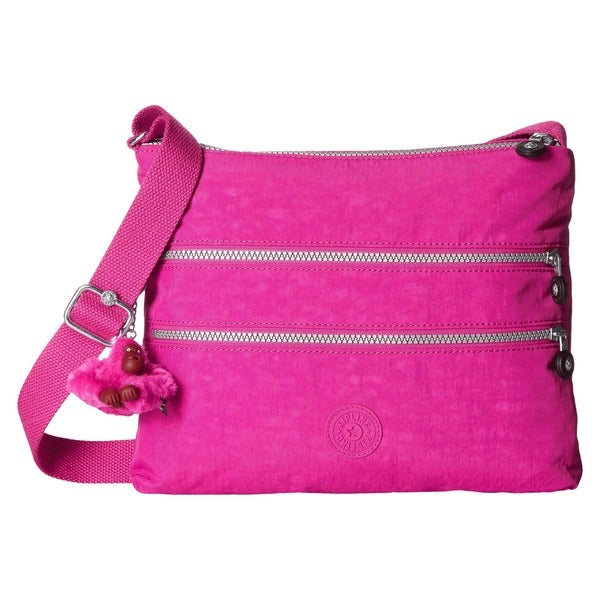 Kipling AlvarVery Berry Pink Crossbody Bag