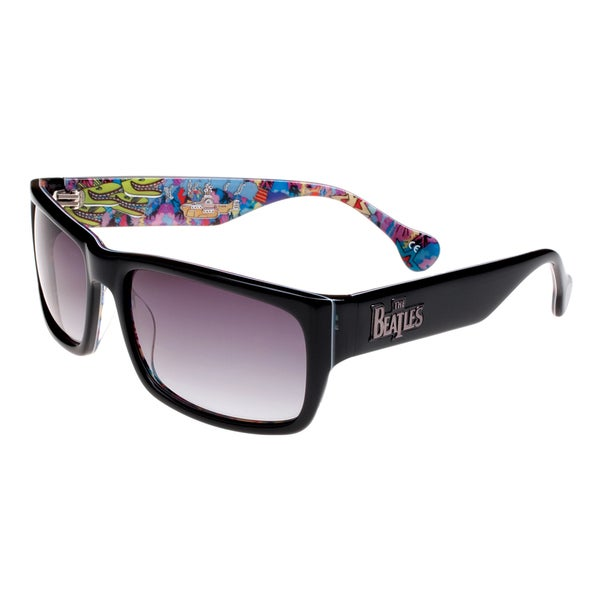The Beatles Unisex Black Limited Edition Collectible Sunglasses