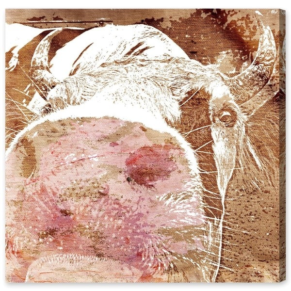 """The First Cow"" Canvas Art"