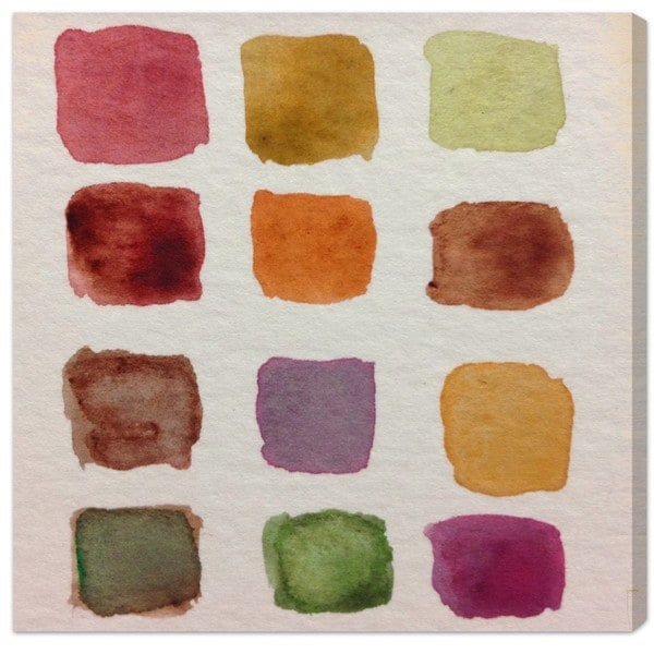 """Fall Palette"" Canvas Art"