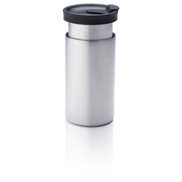 Presse by Bobble, On The Go Brewer, Stainless/Black