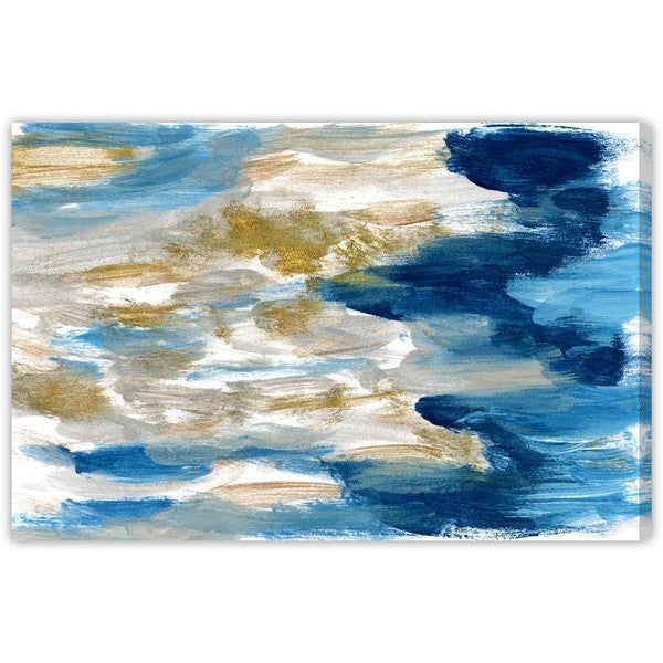 """Sardinia"" Canvas Art"