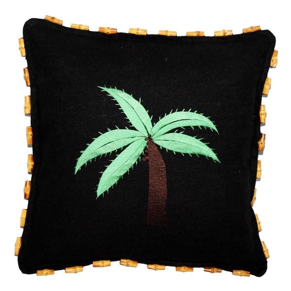 Black Hemp Pillow (China)