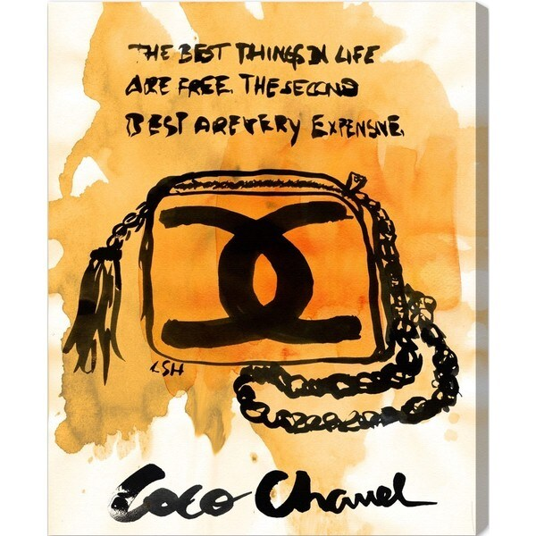 "Oliver Gal ""The Best Things"" Canvas Art"