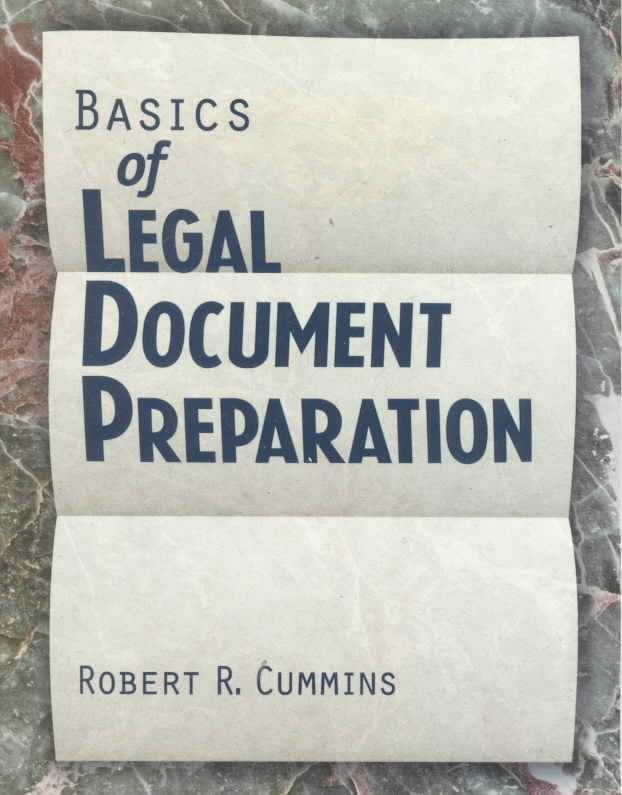 Basics of Legal Document Preparation (Paperback)