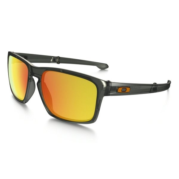 Oakley Men's Sliver F Matte Olive Ink Rectangular Sunglasses With Orange Polarized Iridium Lenses