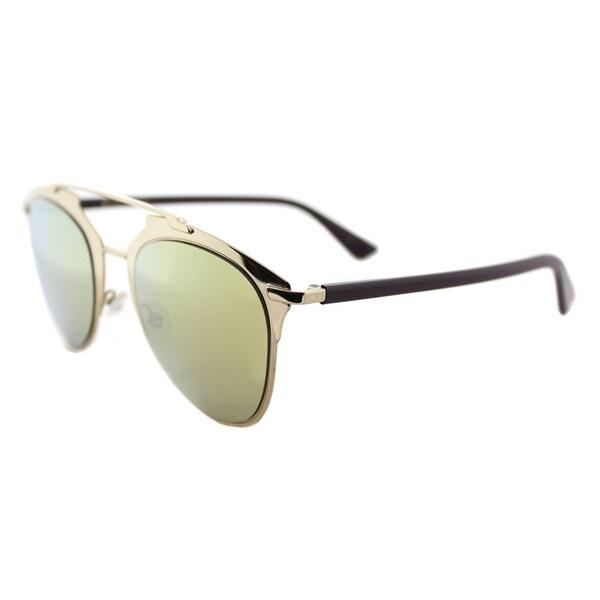 Dior Dior Reflected/S YC2 K1 Gold Plum Metal Aviator Brown Gold SP Lens Sunglasses