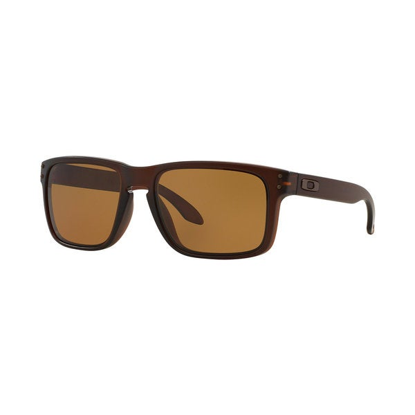 Oakley Men's Holbrook Matte Rootbeer Rectangular Sunglasses