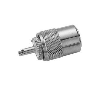 Pro Trucker PL-259 Connector For RG8U Coax - Add Reducer for MINI 8 or RG58 Coax