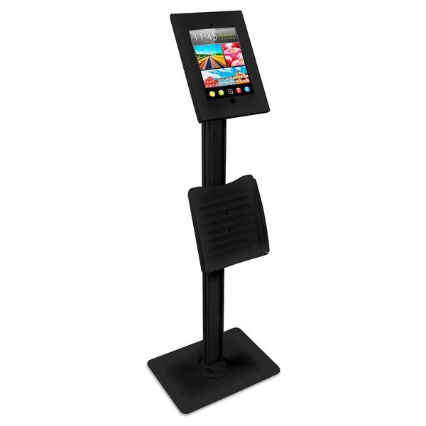 Mount-It! Public Kiosk - Lockable Catalogue Holder and Tablet Stand for Apple iPad 2, 3, 4, and Air