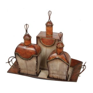 Privilege Perfume Bottles and Tray (Pack of 3)