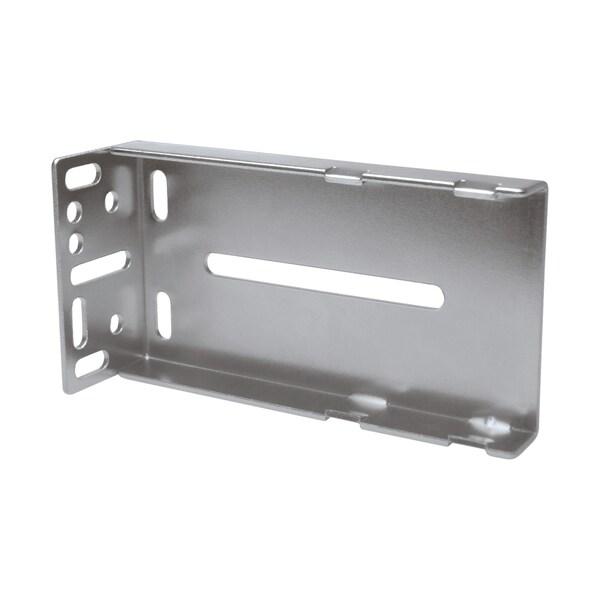 Rok Hardware Silver Finish Metal Rear-mounting Bracket for Ball Bearing Drawer Slides