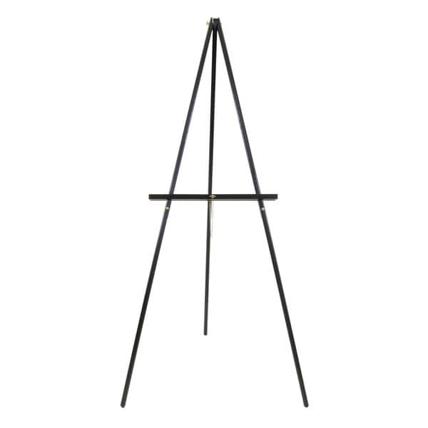 Offex Black Metal Jumbo Adjustable-height Studio Display Easel