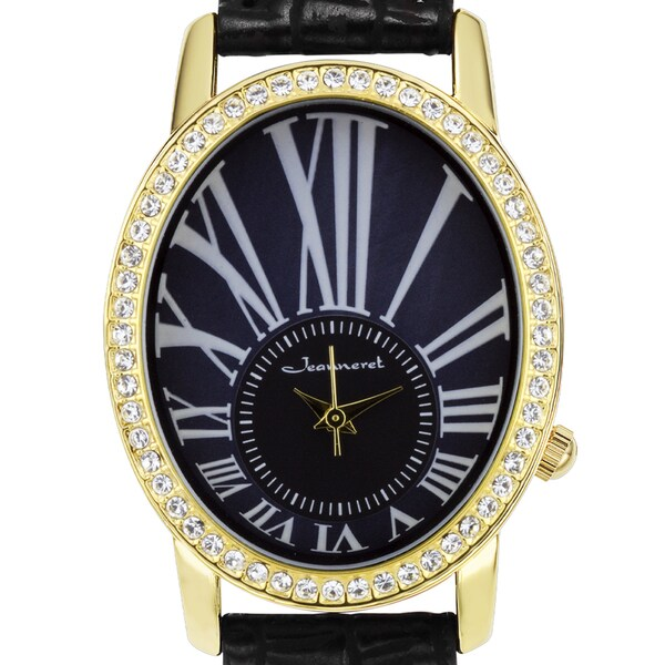 Jeanneret Nightingale Ladies Watch Swarovski Elements Crystal-Embellished Bezel