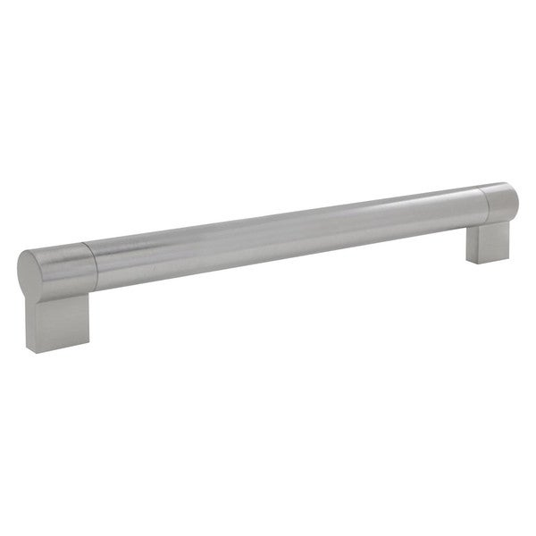 Rok Hardware Brushed Nickel Metal 7-9/16 Centers, 8-17/32 L Twin Bar Pull/Handle