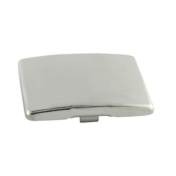 Silver-tone Steel Blank Hinge Arm Cover Cap for 38C, 39C (Case of 100)