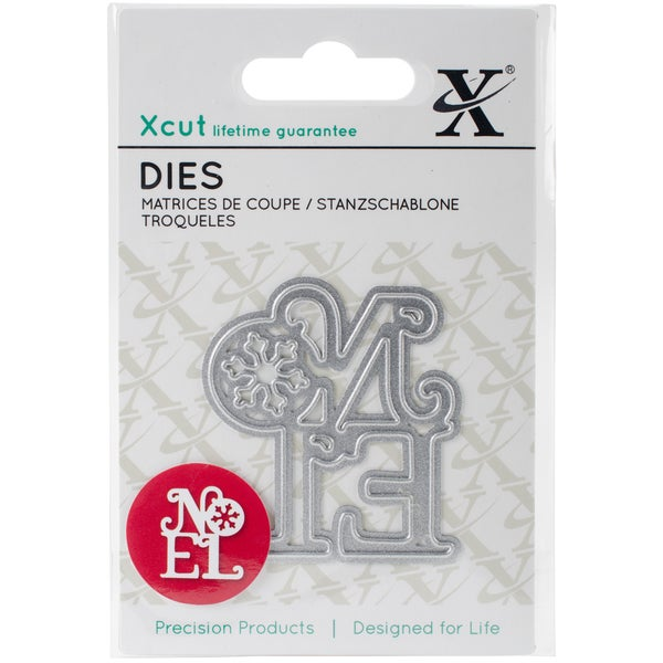 Xcut Mini Decorative Die-Noel