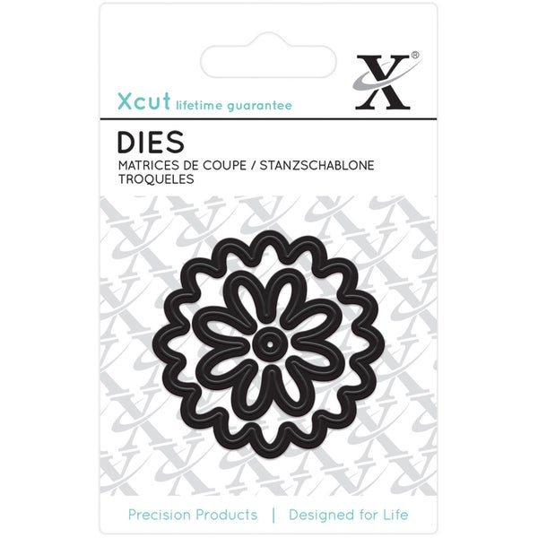 Xcut Mini Decorative Dies 3/Pkg-Flower