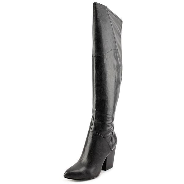 Nine West Women's 'Knee High' Black Leather Boots