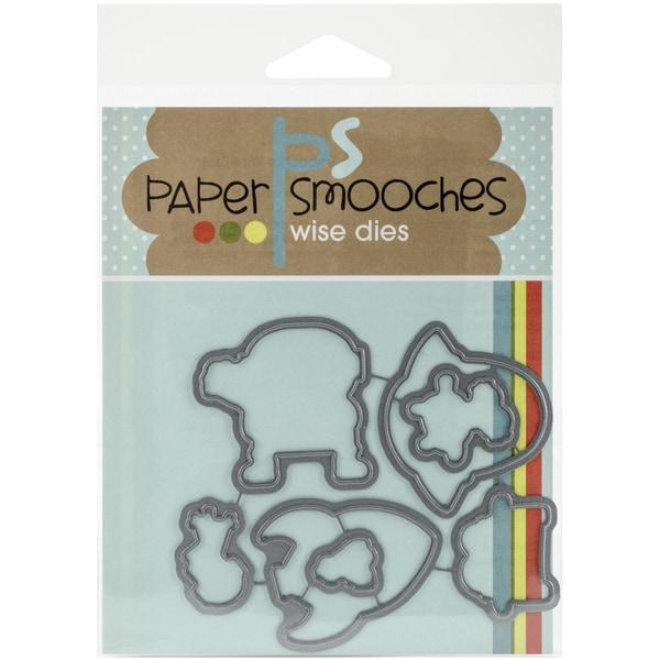Paper Smooches Die-Space Cadet