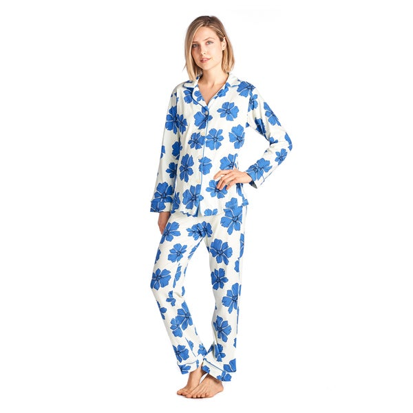 Bedhead Women's Cotton Classic Long-sleeve Pajama Set