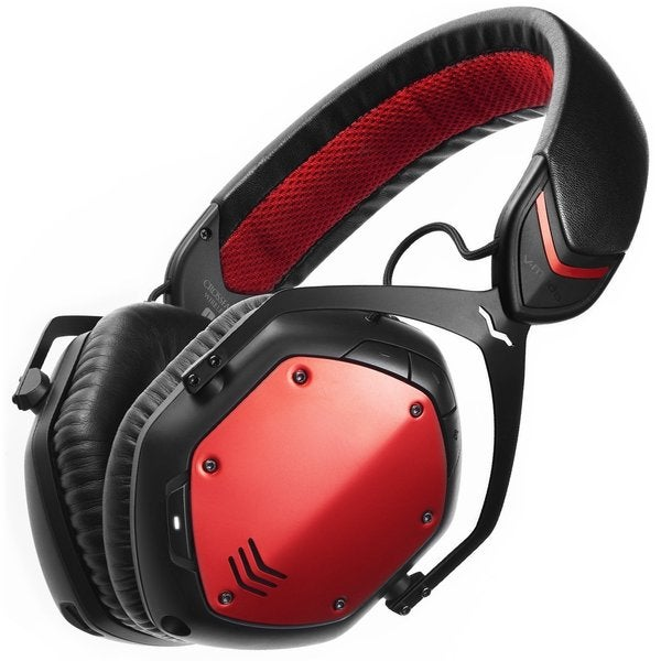 V-MODA Crossfade Wireless Bluetooth Headphones (Rouge Red)