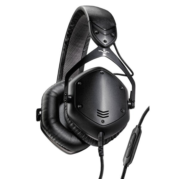 V-MODA Crossfade LP2 Vocal Limited Edition Over-Ear Noise-Isolating Metal Headphones (Matte Black)