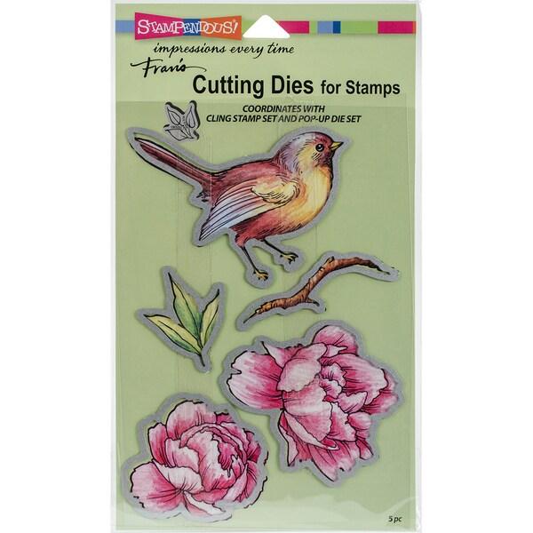 Stampendous Dies-Bird Blossom