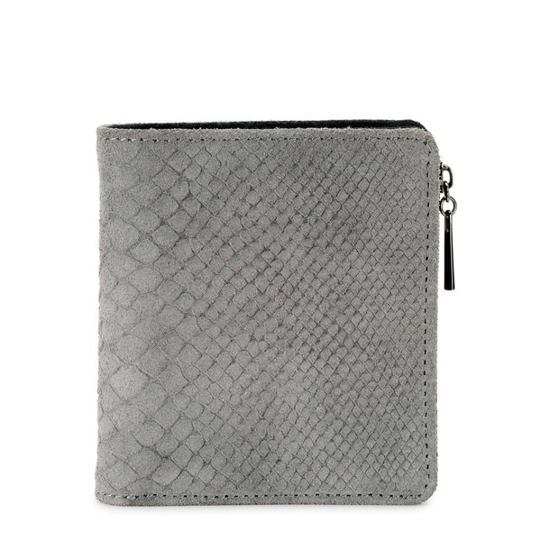 Phive Rivers Womens Leather Wallet (Grey, PR1228)