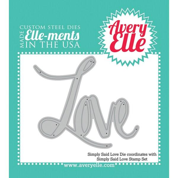 Elle-Ments Dies-Simply Said Love