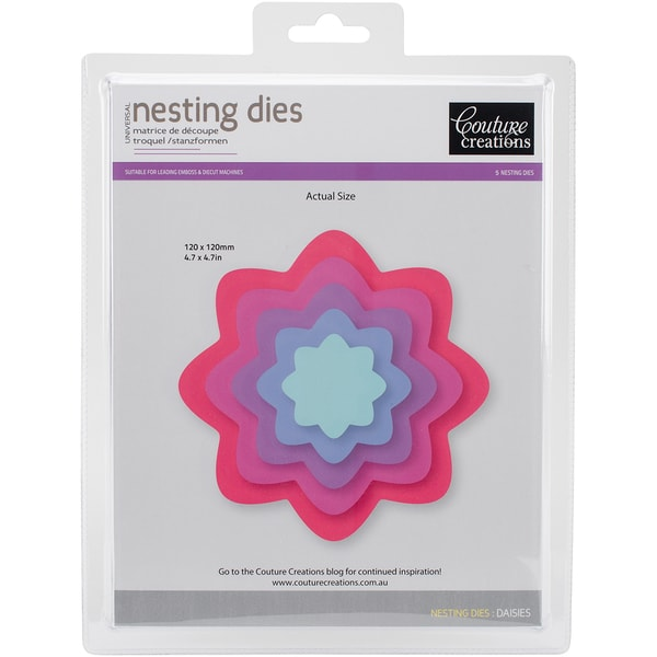 Couture Creations Nesting Dies-Daisy