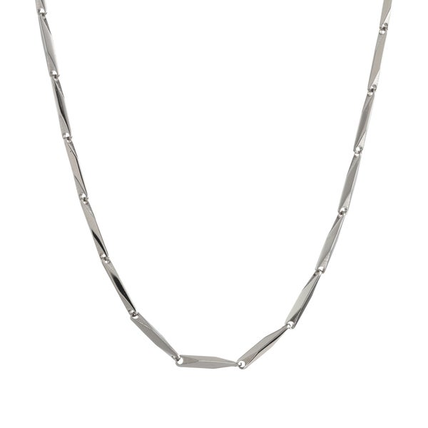 Stainless Steel Link Chain Necklace, 22""